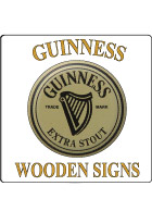 Guinness Wood Signs