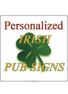 Personalized Irish Signs