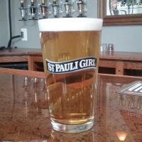 Saint Pauli Girl Pint Glass