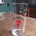 Tennents Lager Pint Glass