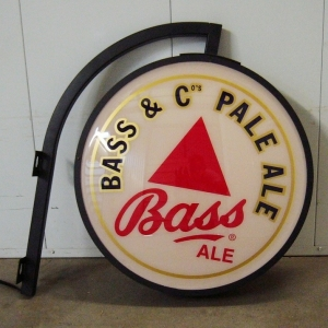 Bass Ale Metal Pub Light