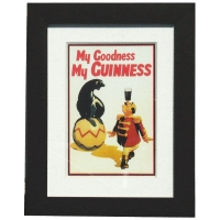 Guinness Seal Framed Print