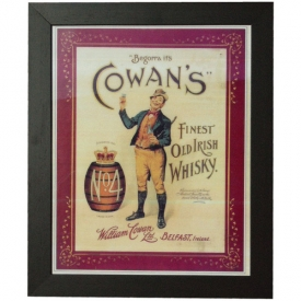 Large Cowans Whisky print