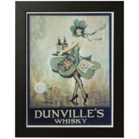 Large Dunvilles Whisky Print