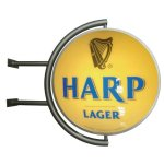 Harp Lager Pub Light
