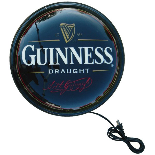 Guinness wall mounted pub light the pub shoppe guinness wall mounted pub light aloadofball Image collections