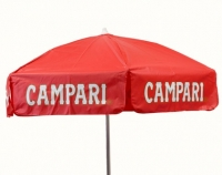 Campari Vinyl Umbrella