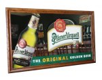 Pilsner Urquell Back Bar Mirror
