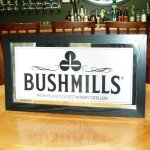 Bushmills Bar Cooler mirror