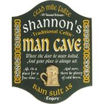 Irish Man Cave Sign
