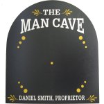 Man Cave Dartboard Backer