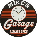 Garage Clock #4503