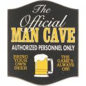 Official Man Cave Sign #4432