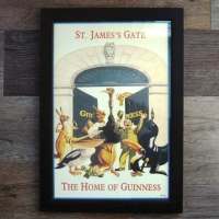 Guinness Framed St James Gate Print