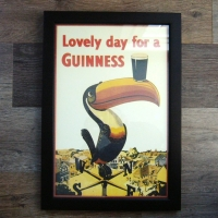Framed Guinness Toucan Print