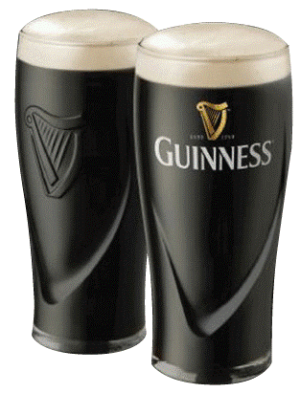 Guinness Gravity Pint Glass