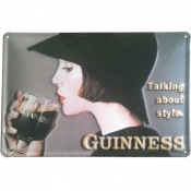 Guinness Style Metal Sign G906