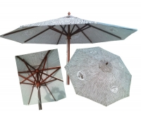 Bartles and Jaymes Umbrella