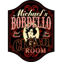Bordello Personalized Sign #5002