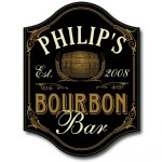 Bourbon Bar Personalized Sign #5003
