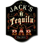 Tequila Bar Personalized Sign #5004