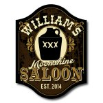 Moonshine Saloon Personalized Sign #5008