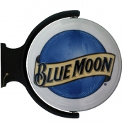 Blue Moon Rotating Light
