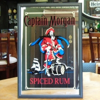 Captain Morgan Spiced Rum Mirror