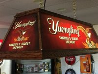 Yuengling Brewery Billiard Light