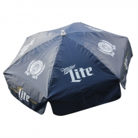 Miller Lite Vinyl Patio Umbrella