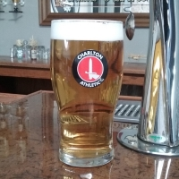 Charlton Athletic Football Club Tulip Glass