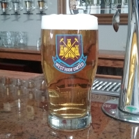 West Ham United Tulip Glass