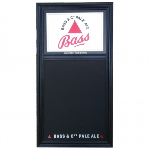 Bass Ale & Co Chalkboard and Mirror