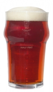 British Pint Glass