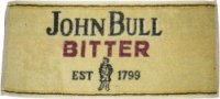 John Bull bar towel