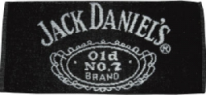 Jack Daniels bar towel
