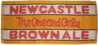 Newcastle bar towel