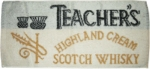 Teacher's Whiskey Bar towel