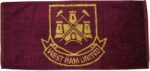 West Ham FC Bar Towel