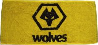 Wolves bar towel