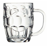 British Dimple Mug w/badge plate