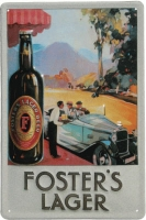 Fosters Metal Pub Sign