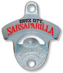 Sarsaparilla Bottle Opener