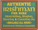 Irishman for Hire #1586 