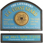 U.S. Coast Guard Personalized Sign