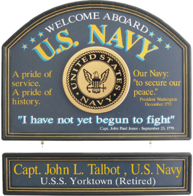 U S Navy Personalized Sign The Pub Shoppe