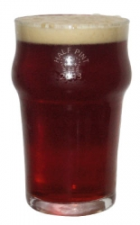 British Half Pint Glass