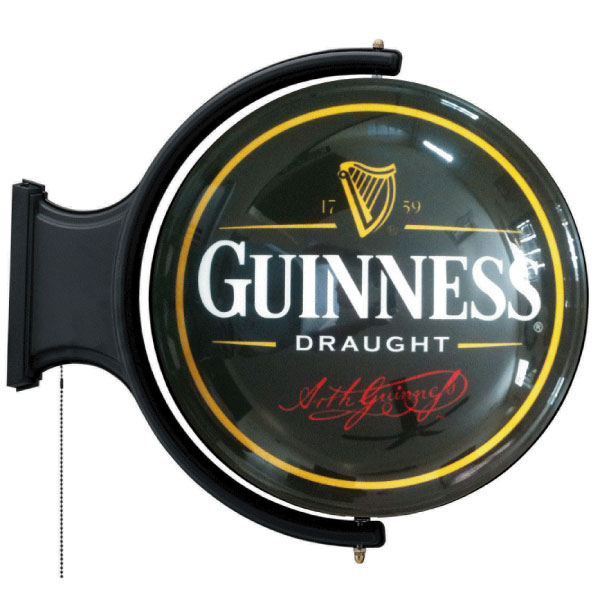 Guinness Rotating Pub Light The Pub Shoppe