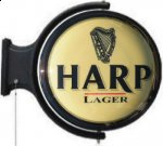 Harp Rotating Pub Light