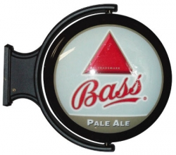 Bass Ale Rotating Pub Light